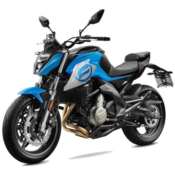 Ilustrační foto motorky CFMOTO 650NK
