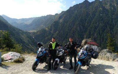 Test motorky CFMOTO 650MT v Rumunsku