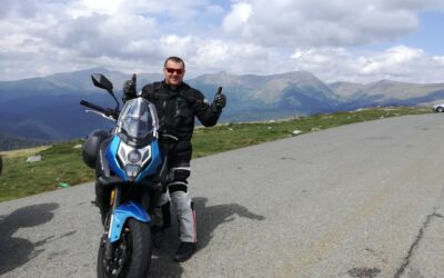 Deset tisíc kilometrů na motorce CFMOTO 650MT – recenze od Marcela