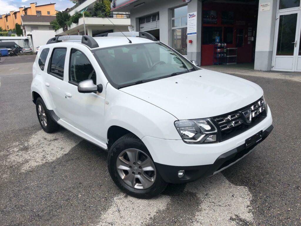 Dacia Duster 4x4 ve Švýcarsku