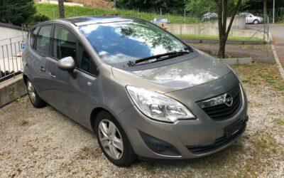 Opel Meriva 1.4 Turbo – Dovezeme ze Švýcarska, červen 2021